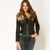 Модные Кожаные Куртки Купить