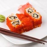 Тобико – что это за ингредиент в суши