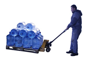 Теперь доставка воды на дачу просто!